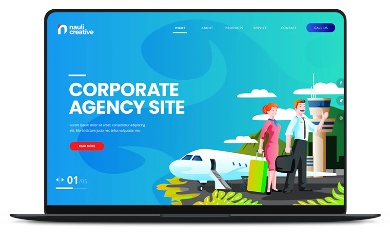Unlimited corporate website maintenance